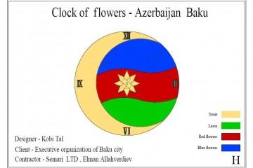 Clock of Flowers