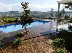 אדריכלות נוף ירושלים - תכנון ועיצוב בריכת שחייה